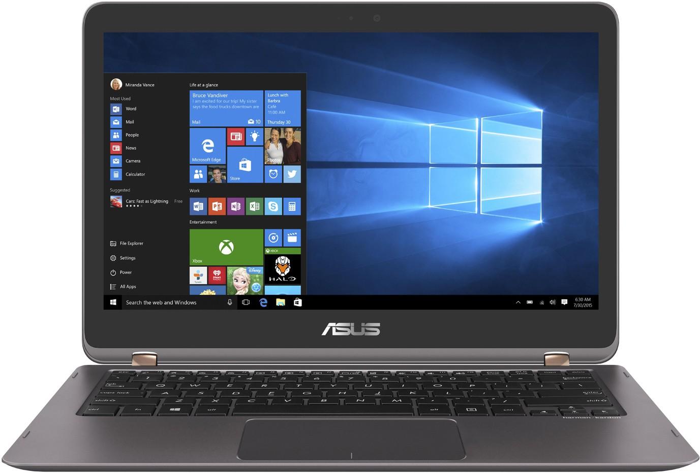 View Asus Zenbook Flip Series Core i7 7th Gen - (8 GB/512 GB SSD/Windows 10 Home) UX360UAK-DQ210T Ultrabook(13.3 inch, Grey, 1.27 kg) Laptop