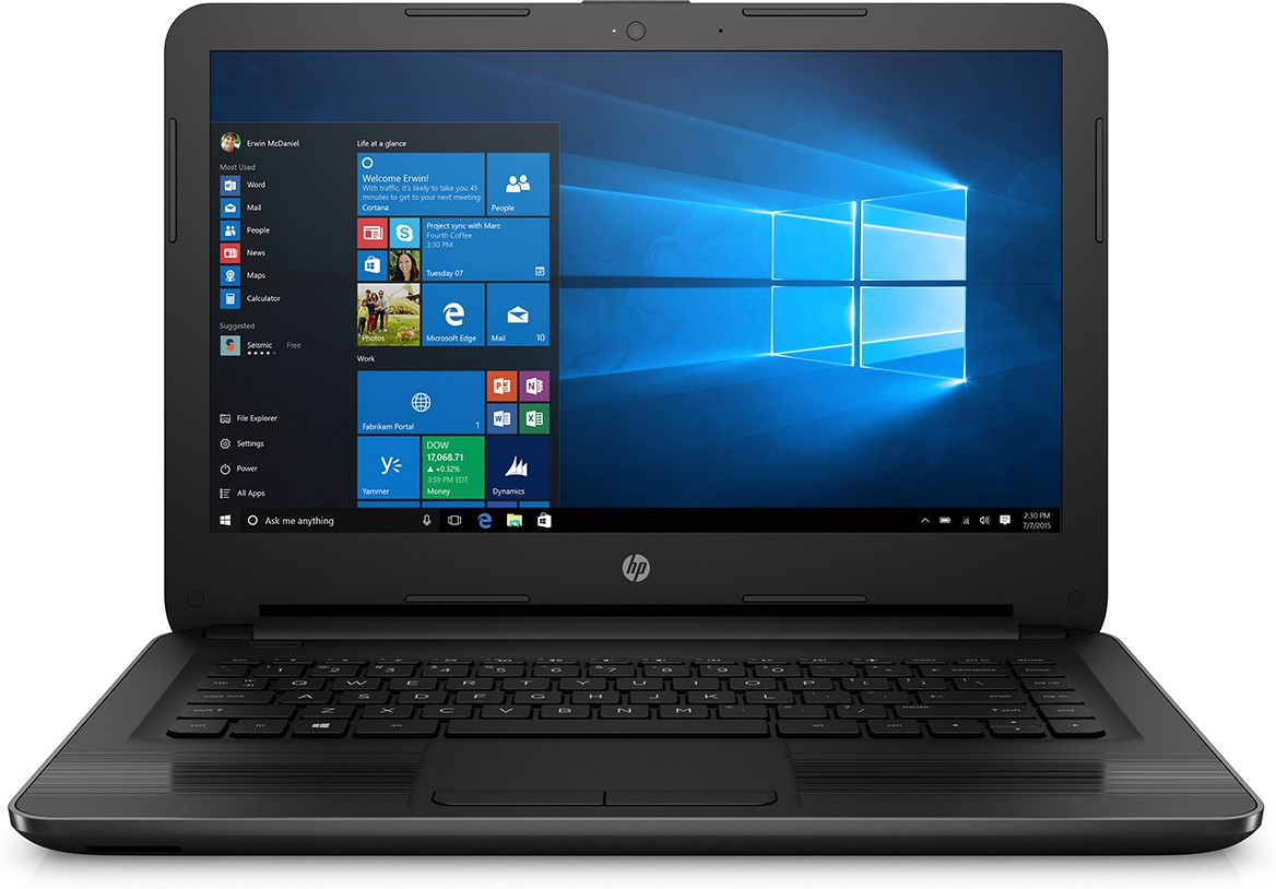 View HP Core i3 6th Gen - (4 GB/500 GB HDD/DOS) 240 G5 Notebook(14 inch, Black) Laptop