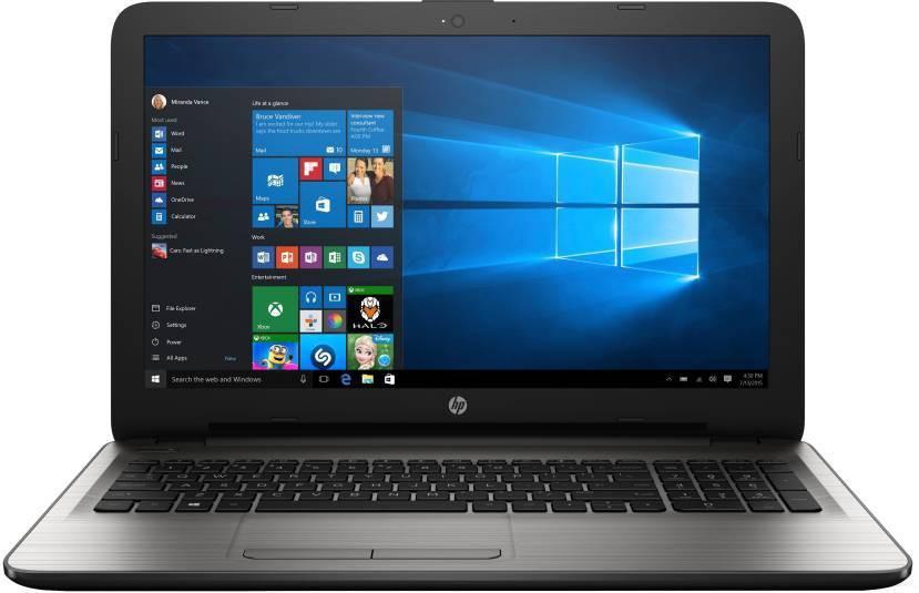 View HP Pavillion APU Quad Core E2 7th Gen - (4 GB/1 TB HDD/DOS) Z6X93PA Notebook(15.6 inch, Black, 2.19 kg) Laptop