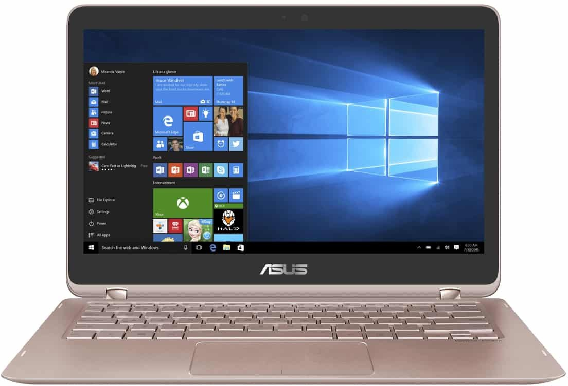 View Asus Zenbook Flip Series Core i5 7th Gen - (8 GB/512 GB SSD/Windows 10 Home) UX360UAK-DQ266T Ultrabook(13.3 inch, Rose Gold, 1.27 kg) Laptop