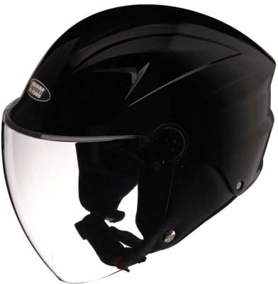 Studds Dude Motorbike Helmet(Black)
