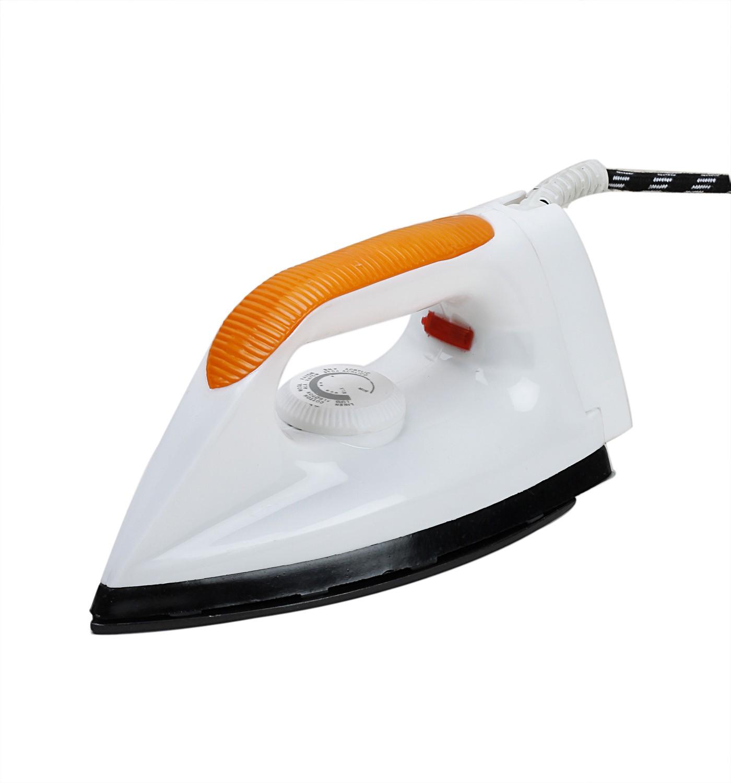 View Jai Maha Laxmi VICTORIA Dry Iron(Orange, White) Home Appliances Price Online(Jai Maha Laxmi)