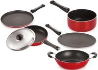 NIRLON Cooking Item Tawa, Pan, Kadhai Set