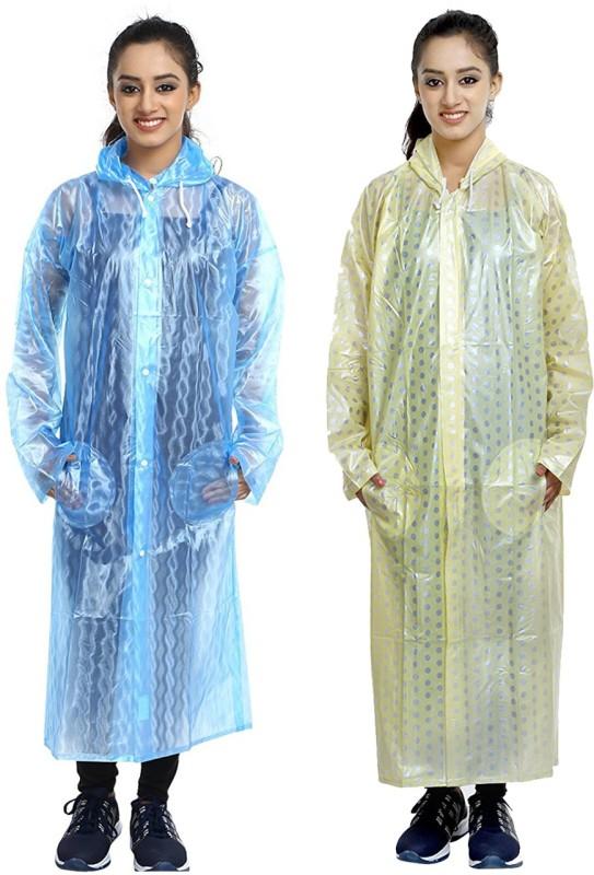 Finery Solid Women's Raincoat