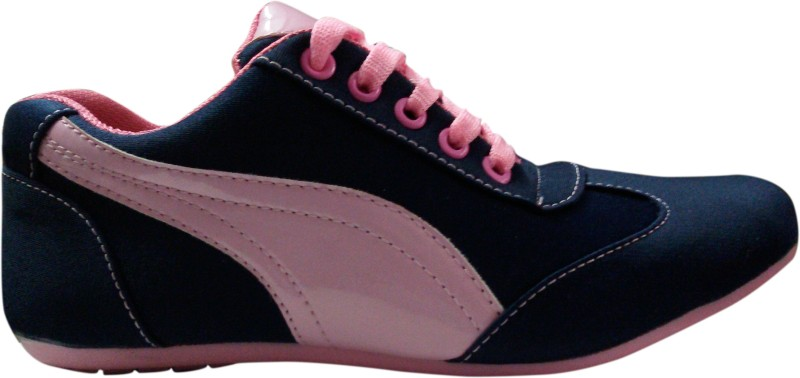 Chiefride Canvas Shoes(Blue, Pink)
