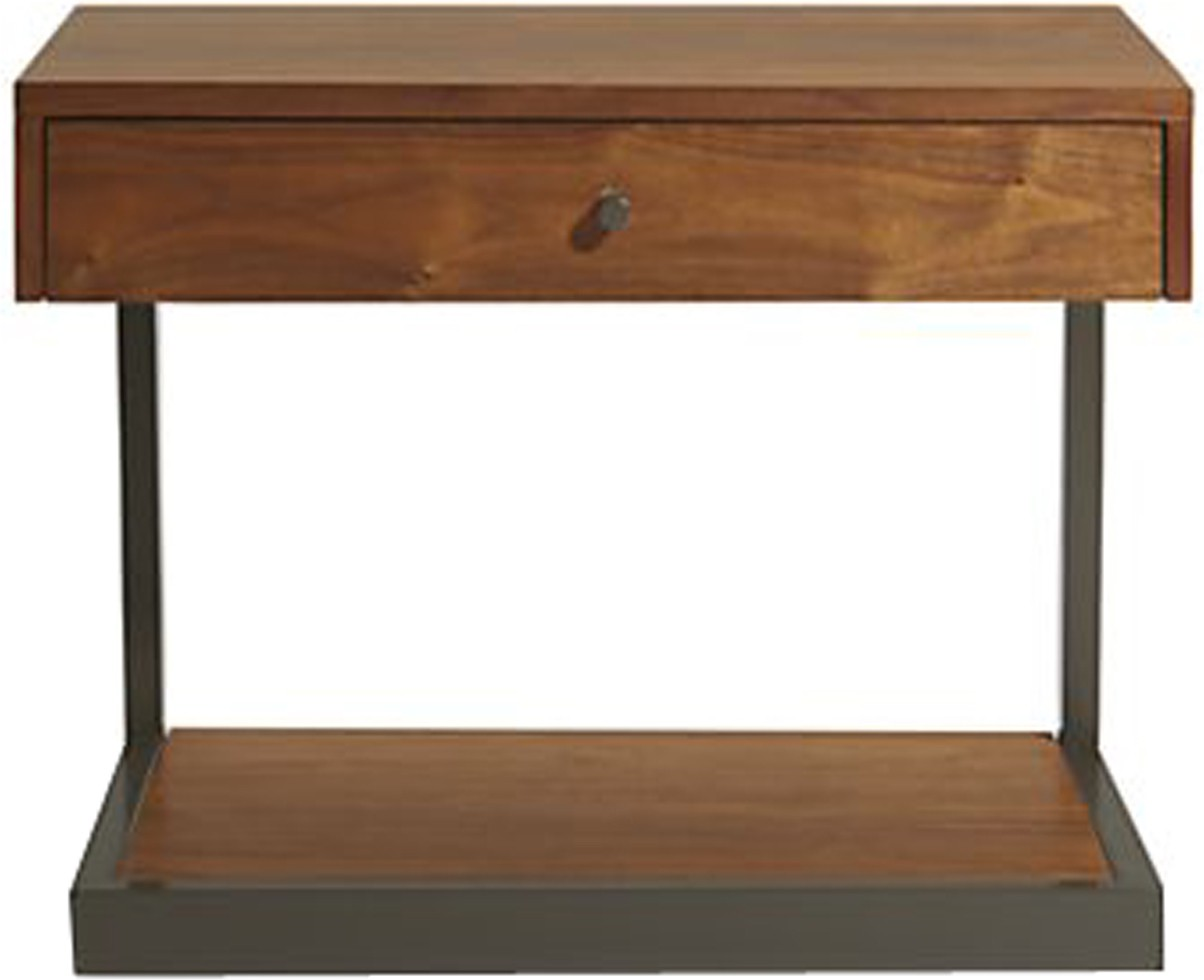 View WOOD CREATION Engineered Wood Side Table(Finish Color - Teak) Furniture (WOOD CREATION)