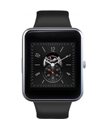 Doodads Hand Wear Smartwatch (Black Strap Regular) Smart Watch Strap(Silver)