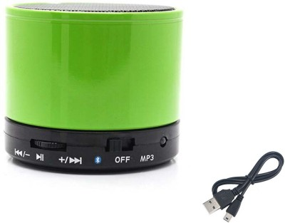 Jiyanshi Apple Portable Bluetooth Mobile/Tablet Speaker(Green, Stereo Channel)