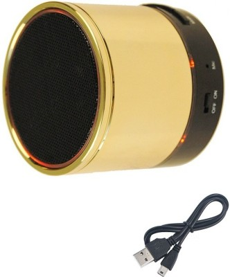 Jiyanshi Apple Portable Bluetooth Mobile/Tablet Speaker(Gold, Stereo Channel)