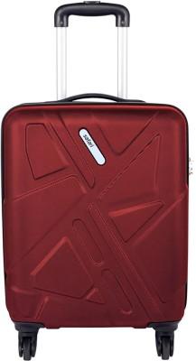 Safari TRAFFIK ANTI-SCRATCH Cabin Luggage - 21.65 inch(Red)