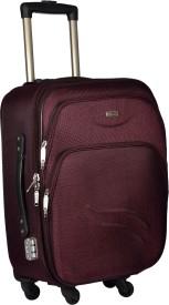 TREKKER TTB-PANDA20-PL Expandable Cabin Luggage - 20 inch(Purple)