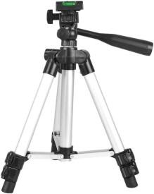 Doodads Beginners camera & Mobile Tripod Kit (Silver, Supports Up to 2000 g) Tripod(Silver, Supports Up to 2000 g)