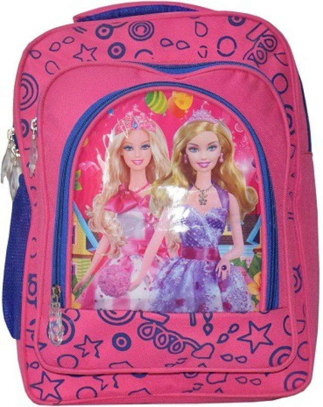 Dizionario Waterproof School Bag(Pink, 15 inch)