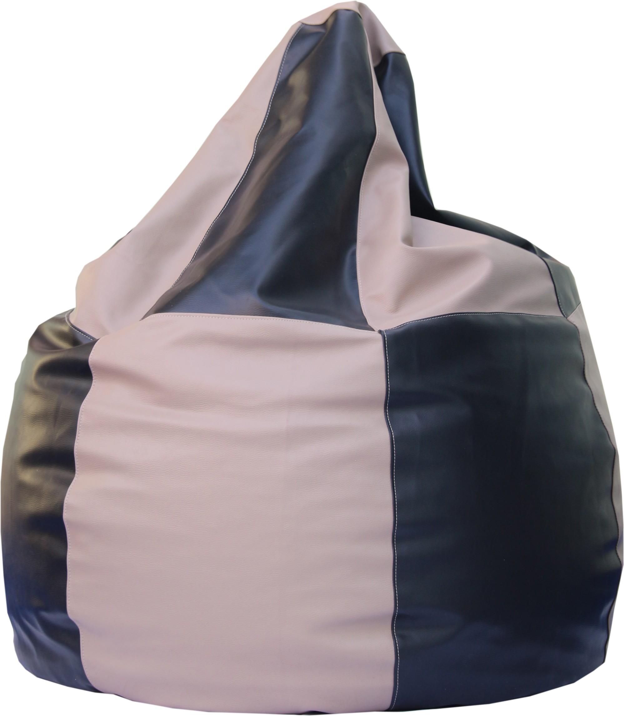 View Beanskart XXL Bean Bag  With Bean Filling(Multicolor) Furniture (Beanskart)
