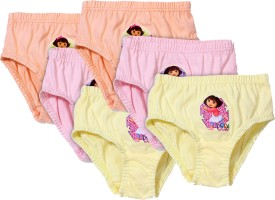 Little's Wear Panty For Girls(Multicolor, Pack of 6)