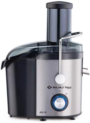 BAJAJ 410179 800 W Juicer(Black, White, 1 Jar)