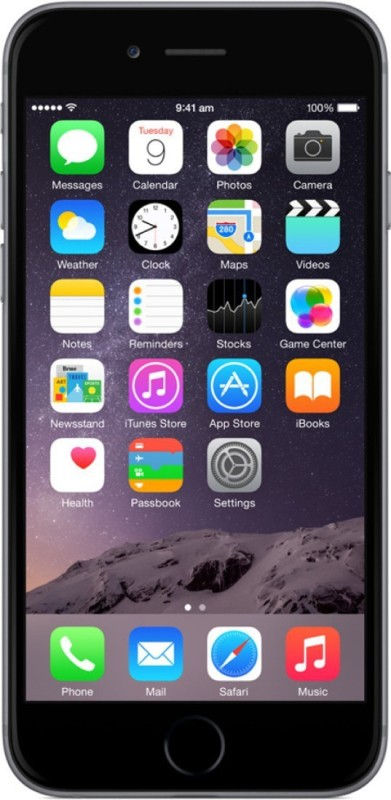 Apple iPhone 6 (Space Grey, 32 GB)