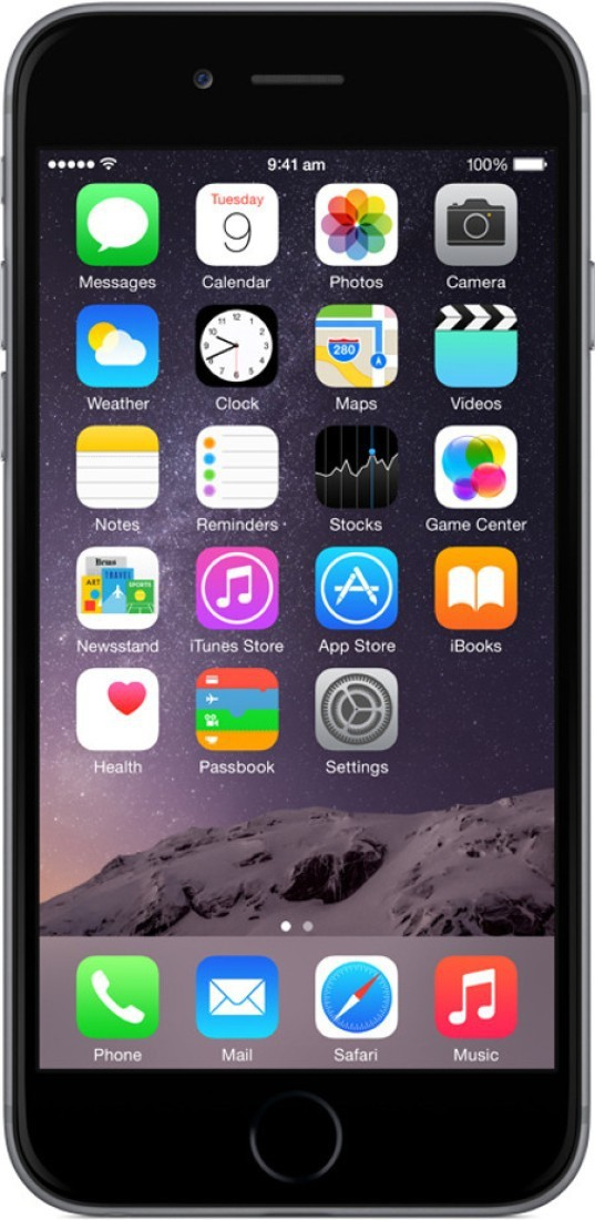 View Apple iPhone 6 (Space Grey, 32 GB) Mobile Price Online(Apple)