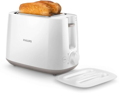 Philips HD2582 830 W Pop Up Toaster(White)