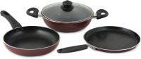 Prestige Omega Deluxe Cookware Set Pan, Kadhai Set(Aluminium, Non-stick)