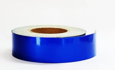 Laps of Luxury Blue Radium Tape GD426 50.8 mm x 3.65 m Blue Reflective Tape(Pack of 1)