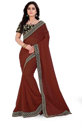 a1a12987c3e59 Bunny Sarees Embellished Bollywood Georgette Saree Dark Blue Best ...