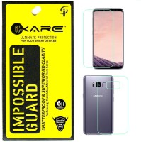iKare Impossible Glass for Samsung Galaxy S8 Plus Front & Back