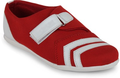 Scantia Loafers(Red, White)