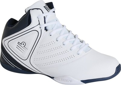Admiral Dribbler Basketball Shoes(White)