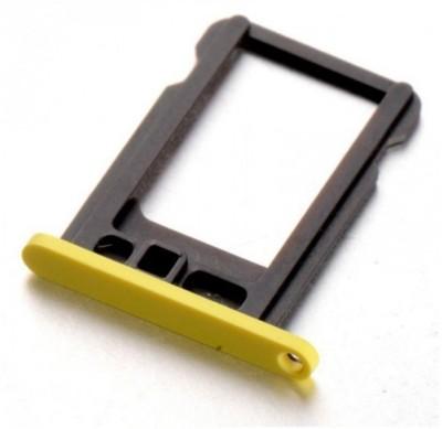 FCSS apple 5c Yellow Sim Adapter(Plastic)