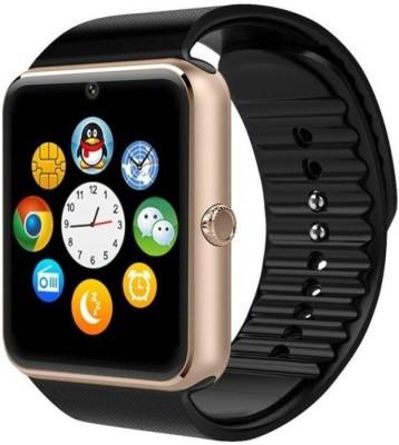 Doodads GT08 Smart Touch Bluetooth, Smart Watch Strap(Brown, Silver, Black)