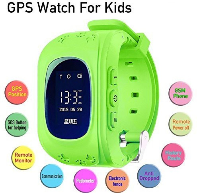 VibeX ™ Child safe gps tracker Wrist SOS Call Monitor...