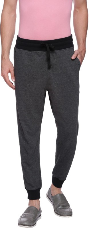 Deezeno Solid Men's Grey Track Pants