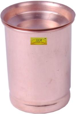 Shivshakti Arts Glass(300 ml, Brown, Pack of 1)