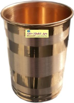 Shivshakti Arts Glass(200 ml, Brown, Pack of 1)