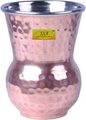 Shivshakti Arts Glass(350 ml, Brown, Pack of 1)