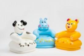 Intex Happy Animal Chair Assortment, 3 Styles 25½(Multicolor)