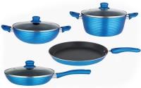 NIRLON Cooking Pots & Pans Tawa, Pan, Kadhai, Handi Set