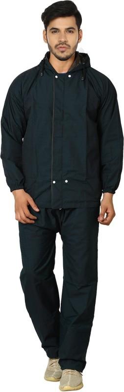 Rainfun Self Design Men's Raincoat