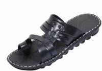 IndiStar Men Black Flats