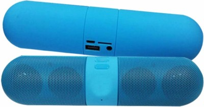 RICH WALKER Capsul Portable Bluetooth Mobile/Tablet Speaker(Blue, Stereo Channel)