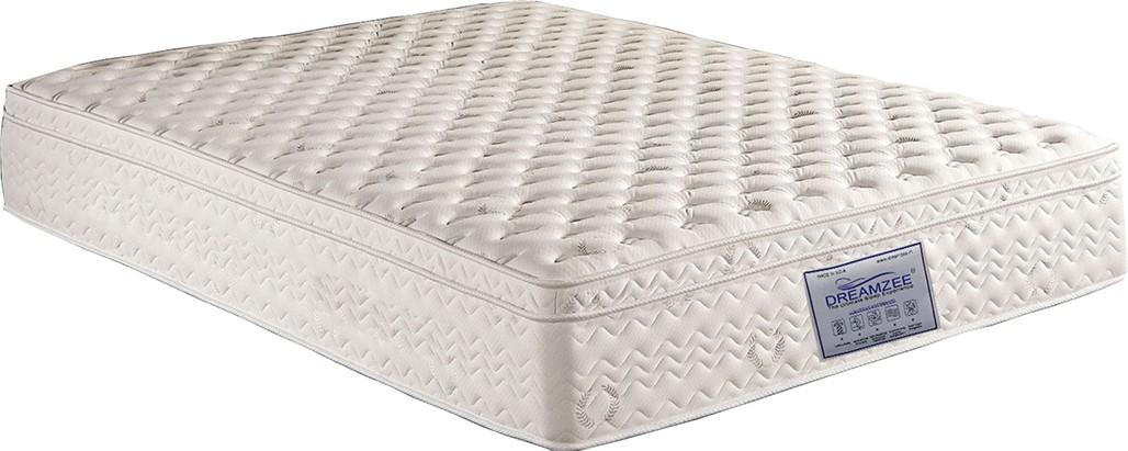 View Dreamzee Orthocare Memory Foam Eurotop 6 inch Single High Resilience (HR) Foam Mattress(Standard Foam) Furniture (Dreamzee)