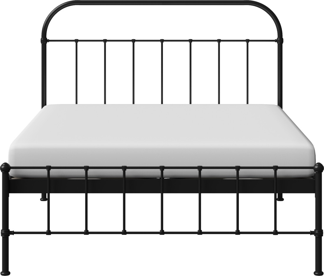 View The Original Bed Co. Solomon 5'0 Metal Queen Bed(Finish Color -  Black)