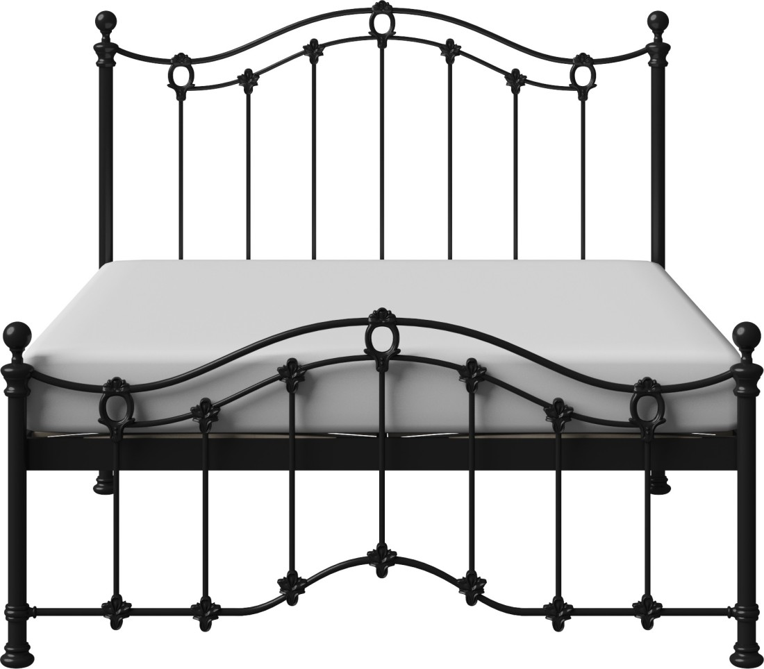 View The Original Bed Co. Clarina 5'0 Metal Queen Bed(Finish Color -  Black)