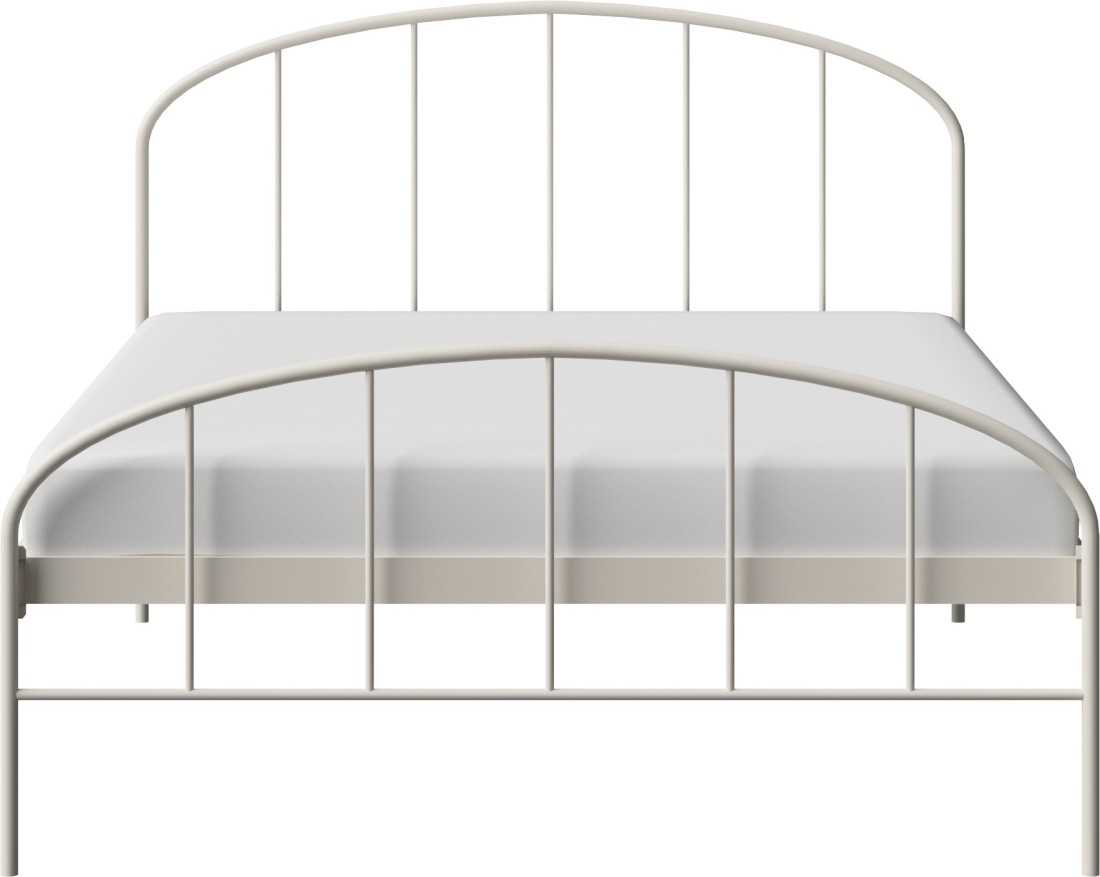 View The Original Bed Co. Waldo 5'0 Metal Queen Bed(Finish Color -  Ivory)