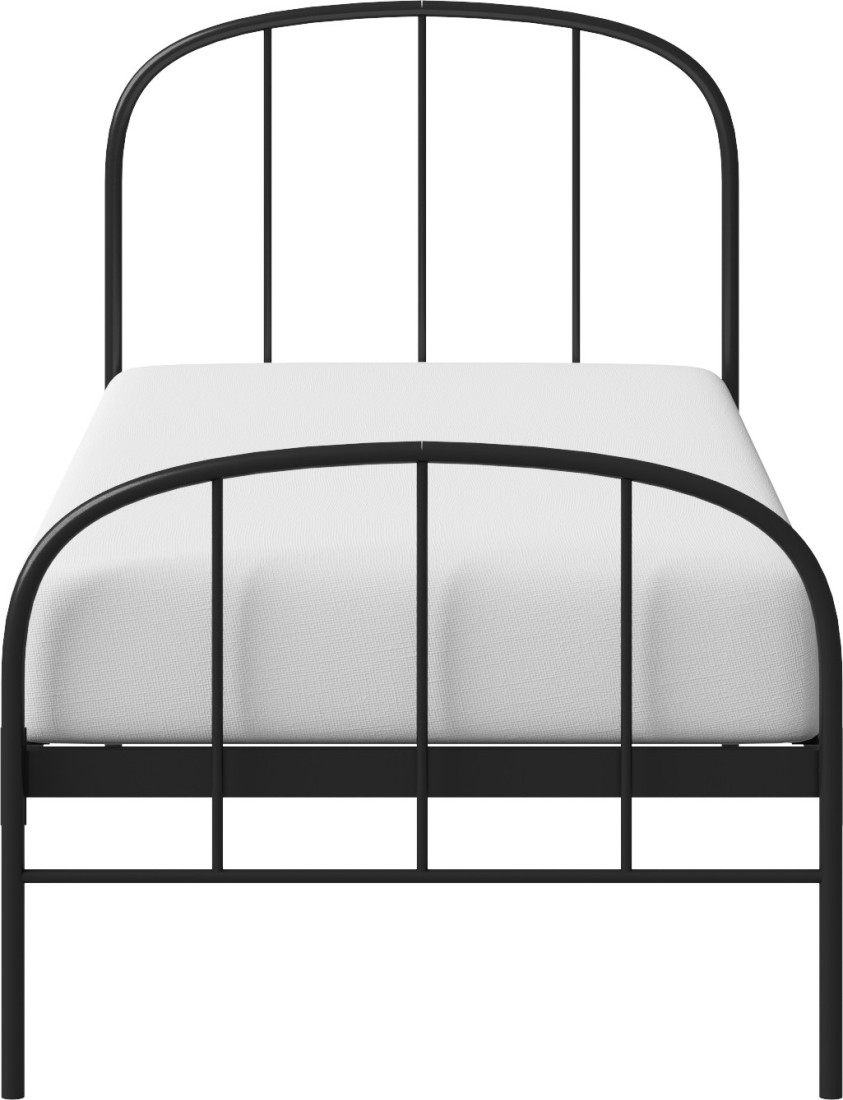 View The Original Bed Co. Waldo 3'0 Metal Single Bed(Finish Color -  Black)