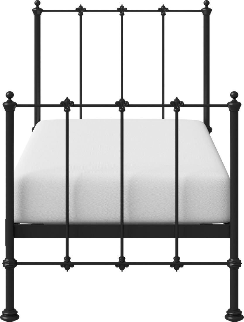 View The Original Bed Co. Paris 3'0 Metal Single Bed(Finish Color -  Black)