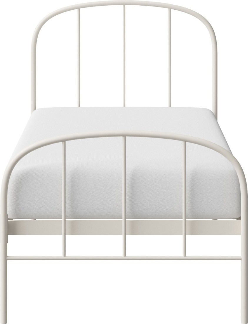 View The Original Bed Co. Waldo 3'0 Metal Single Bed(Finish Color -  Ivory)