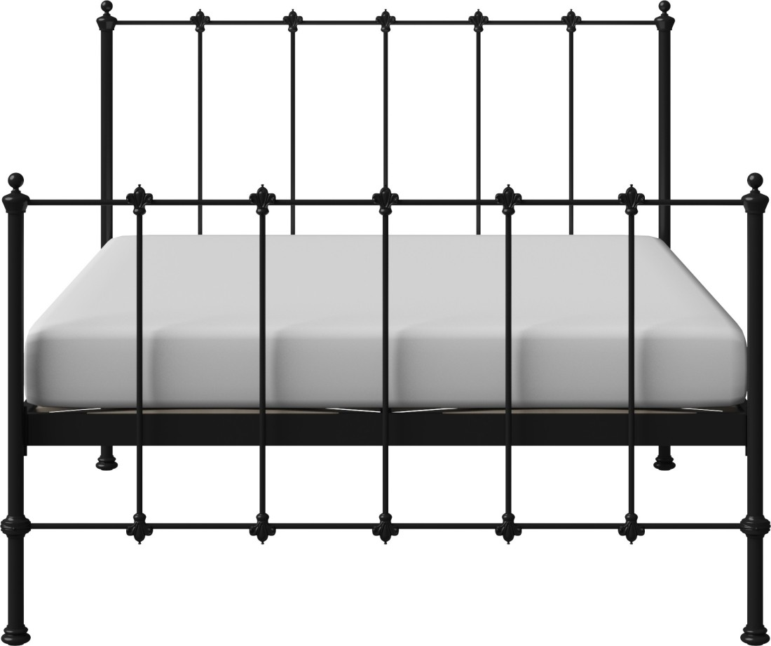 View The Original Bed Co. Paris 5'0 Metal Queen Bed(Finish Color -  Black)