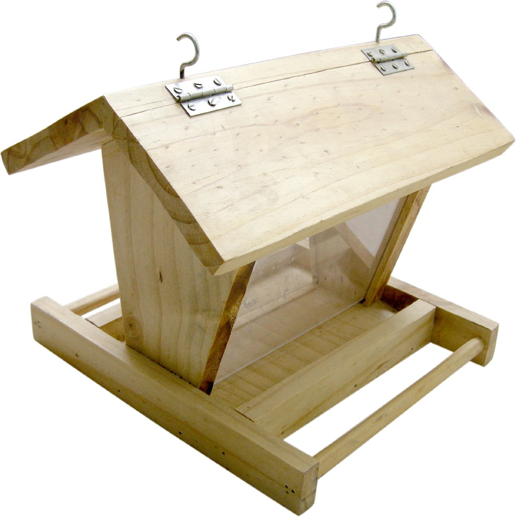 View Birdhousebuilder BF0012 Eco Strong Hopper Bird Feeder Bird House(Hanging, Free Standing) Furniture (birdhousebuilder)